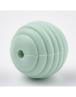 Maistinio silikono karoliukai, apvalūs, matmenys: 15x14mm