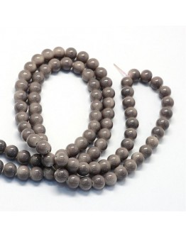 Baking Painted Glass Round Bead Strands, RosyBrown, 8.5~9mm, Hole: 1.5mm; about 105pcs/strand, 31.8""