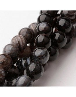 "Natural Quartz Round Beads Strands, Undyed, 10mm, Hole: 1mm; about 38pcs/strand, 15.75"""