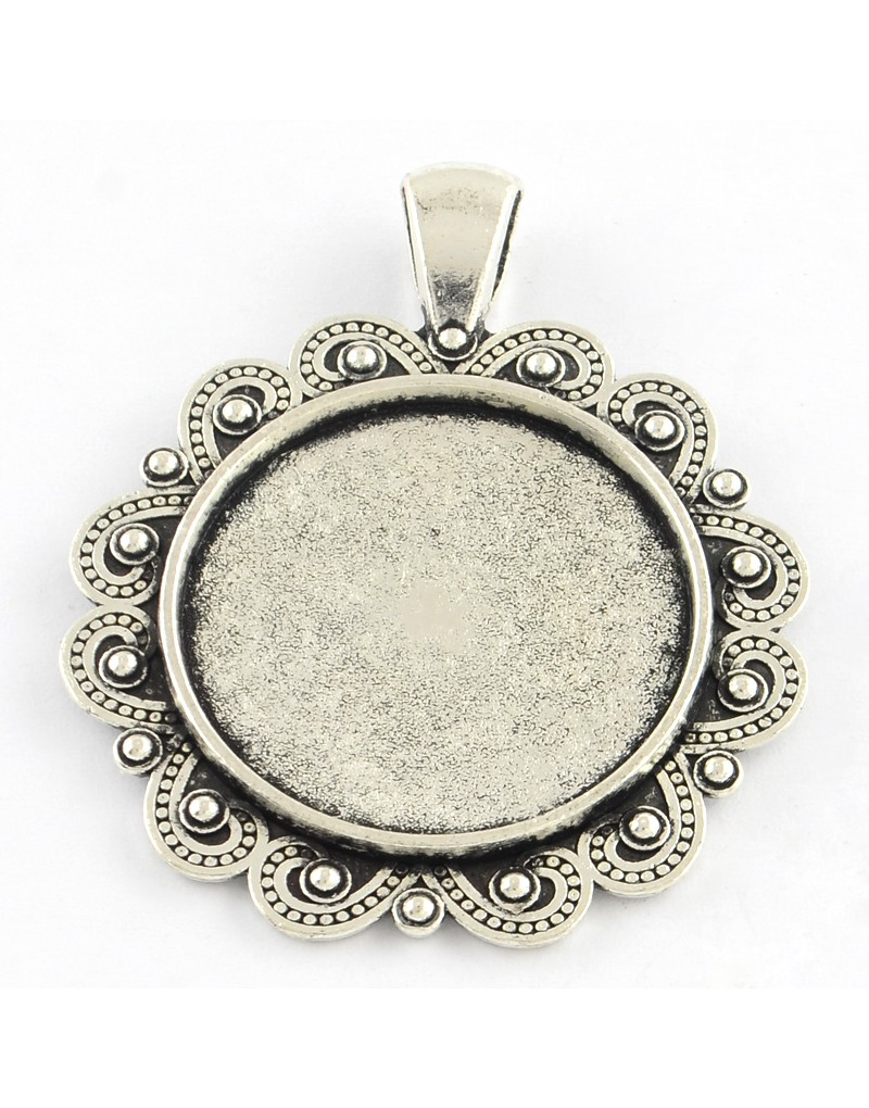 tibetan silver pendant fan turquoise treasure products necklace