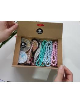 Papuošalų gamybos detalių rinkinys/dėžutė